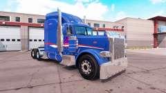 La Peau B-T Inc. pour le camion Peterbilt 389