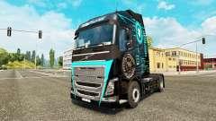 La peau Hi-Tech chez Volvo trucks pour Euro Truck Simulator 2