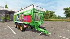 JOSKIN DRAKKAR 8600 meteor games edition v1.2 pour Farming Simulator 2017