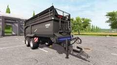 Krampe Bandit 750 black v2.0 pour Farming Simulator 2017