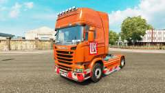 LUKOIL-skin für den Scania truck