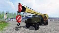 KrAZ 257-LKW-Kran
