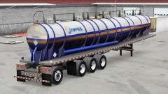 La peau Infra sur la remorque pour American Truck Simulator