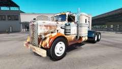 Haut Rostigen Traktor auf Kenworth-521