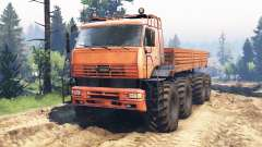 KamAZ-6560 8x8 Nord-v2.0 pour Spin Tires