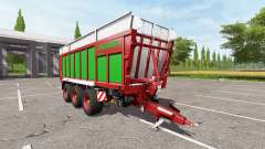 JOSKIN DRAKKAR 8600 red-green edition für Farming Simulator 2017