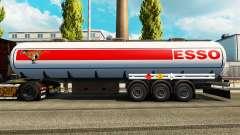 Skins du carburant semi-remorque
