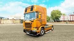 La Camaro de la peau pour Scania camion