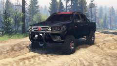Toyota Hilux Double Cab 2016 v2.0 für Spin Tires