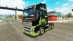La peau Kawasaki Ninja pour Volvo camion