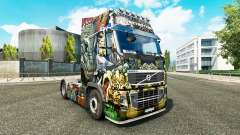 Skin Monster Angriff bei Volvo trucks