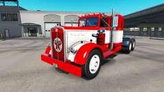 La peau sur le camion Texaco Kenworth 521