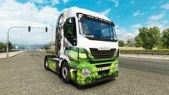 La peau d'Art d'Épée en Ligne pour camion Iveco