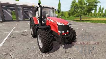 Massey Ferguson 8727 v2.0 pour Farming Simulator 2017