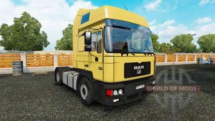 MAN F2000 v1.2 pour Euro Truck Simulator 2