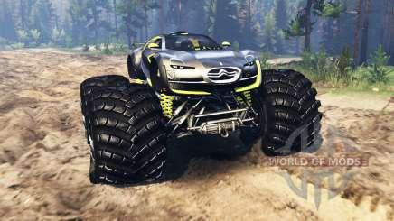 Citroen Survolt Concept 2010 pour Spin Tires