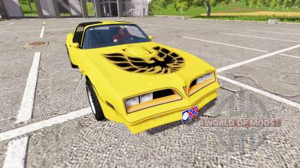 Pontiac Firebird Trans Am für Farming Simulator 2017