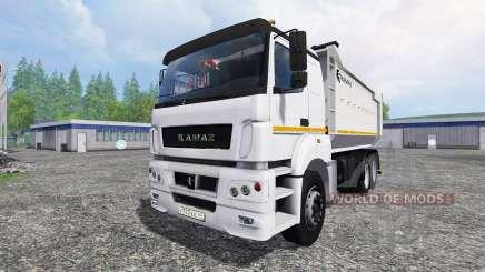 KamAZ-6580 v1.2 pour Farming Simulator 2015