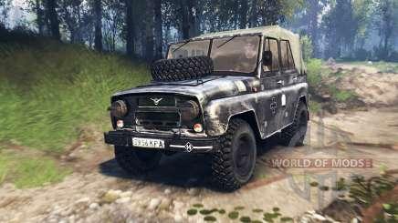 UAZ-469 v3.0 pour Spin Tires