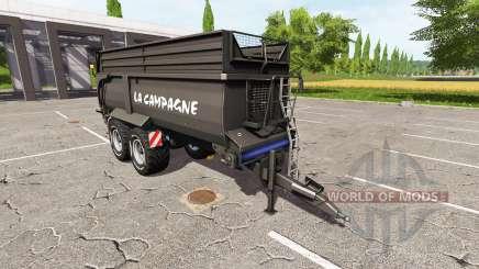 Krampe Bandit 750 black für Farming Simulator 2017