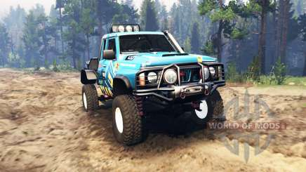 Nissan Patrol GQ pour Spin Tires