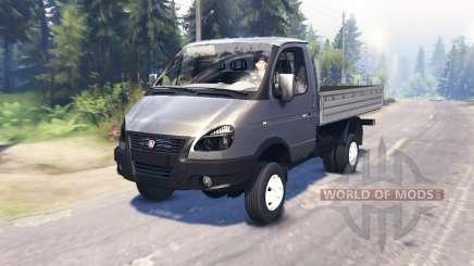 GAZ-33027 GAZelle-Business pour Spin Tires