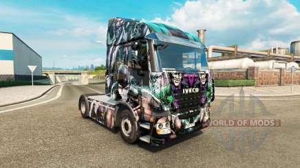 Haut-DC-Schurken auf die LKW-Iveco für Euro Truck Simulator 2