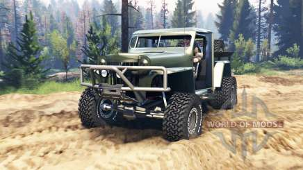 Willys Pickup Crawler 1960 v1.3.2 für Spin Tires