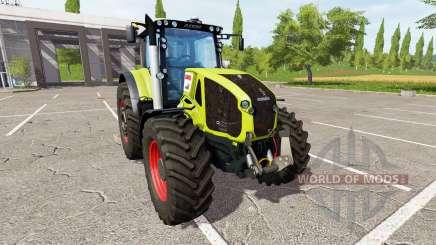 CLAAS Axion 950 v2.0 für Farming Simulator 2017