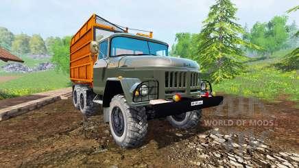 ZIL 131 silos pour Farming Simulator 2015