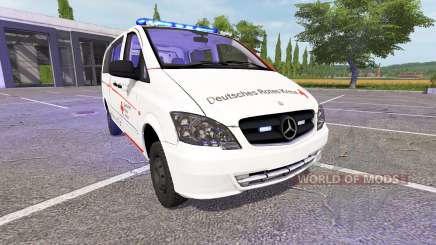 Mercedes-Benz Viano First Responder für Farming Simulator 2017