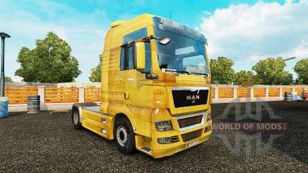 La peau de la Saleté sur le camion de l'HOMME pour Euro Truck Simulator 2