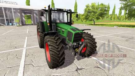 Fendt Favorit 818 v4.0 pour Farming Simulator 2017