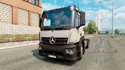 Mercedes-Benz Antos pour Euro Truck Simulator 2