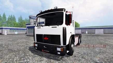 MAZ-6422 pour Farming Simulator 2015