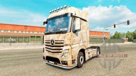 Haut Rusty auf dem Traktor Mercedes-Benz für Euro Truck Simulator 2