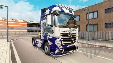 La peau Biomechaniks pour tracteur Mercedes-Benz pour Euro Truck Simulator 2