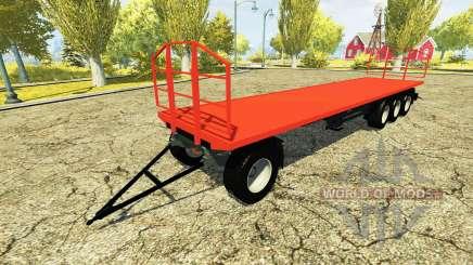 Auto-portante de la remorque pour Farming Simulator 2013