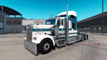 La peau Carlyle sur le camion Kenworth W900 pour American Truck Simulator
