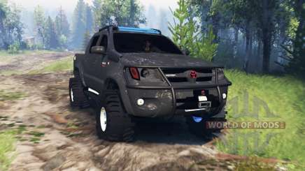 Toyota Hilux 2013 v4.0 pour Spin Tires