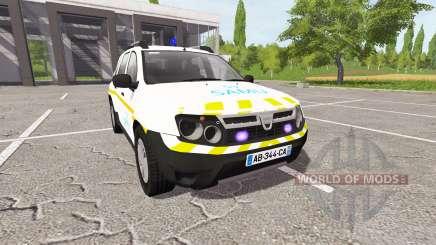 Dacia Duster SAMU pour Farming Simulator 2017