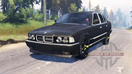 BMW 750Li (E38) v4.0 für Spin Tires