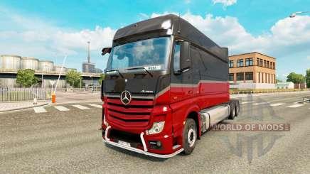 Mercedes-Benz Actros MP4 longline pour Euro Truck Simulator 2