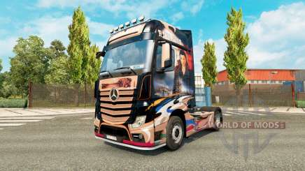 Haut Revaniko für Traktor Mercedes-Benz für Euro Truck Simulator 2