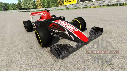 La formule 1, voiture de course v2.0 pour BeamNG Drive