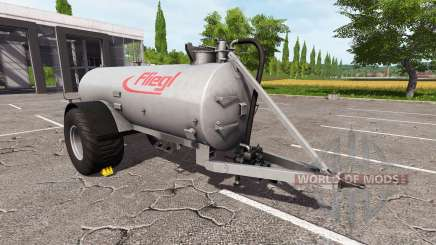 Fliegl VFW 10600 pour Farming Simulator 2017