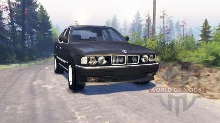 BMW 750Li (E38) v3.0 für Spin Tires