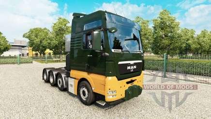 MAN TGX 8x4 v1.8 für Euro Truck Simulator 2