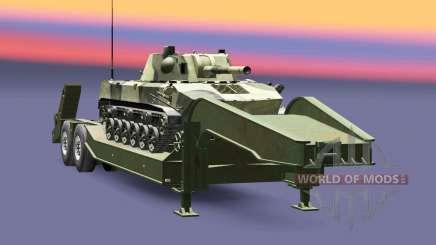 Semi transportant du matériel militaire v1.6.1 pour Euro Truck Simulator 2