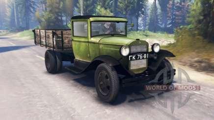 GAZ-MM 1940 v2.0 pour Spin Tires